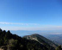 …προς την κορυφή (κάτω δεξιά το Αγρίνιο) 25.09.2016
