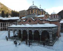 Το μοναστήρι της Ρίλα 31.12.2016